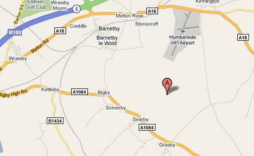Location Map of Broadlands Cattery